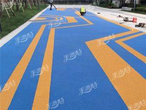 彩色防滑路面与沥青路面的区别