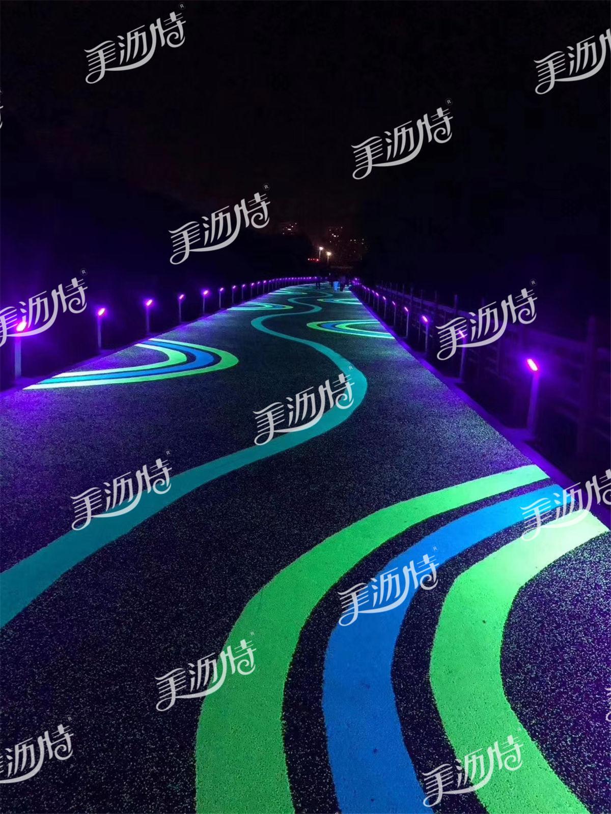 夜光路面施工注意事项有哪些?